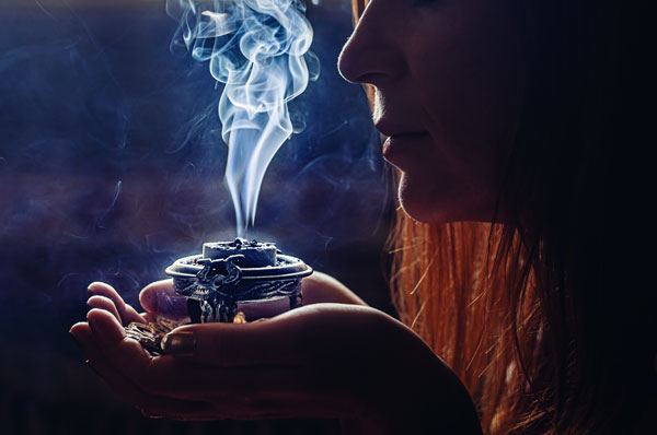 meaning of smudging and smoke cleansing